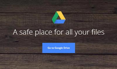 google drive login page