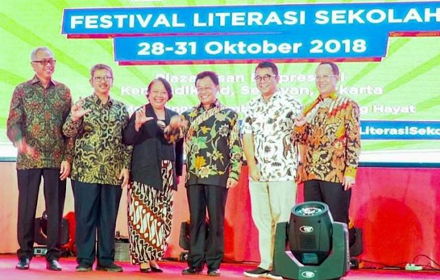 FLS 2018 dan Momentum Mengintegrasikan Literasi dalam Kurikulum 2013