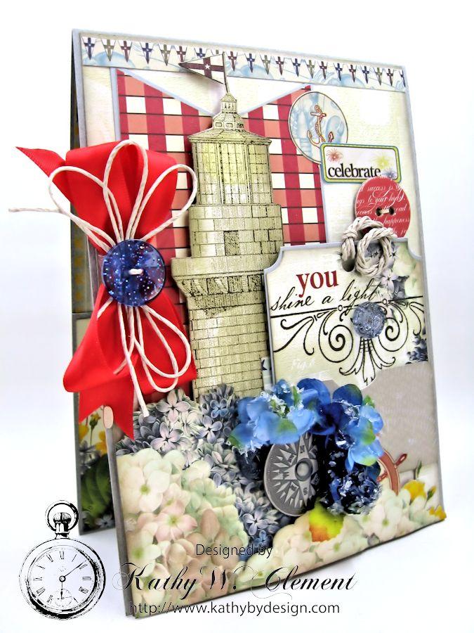 Lighthouse Birthday Card 02