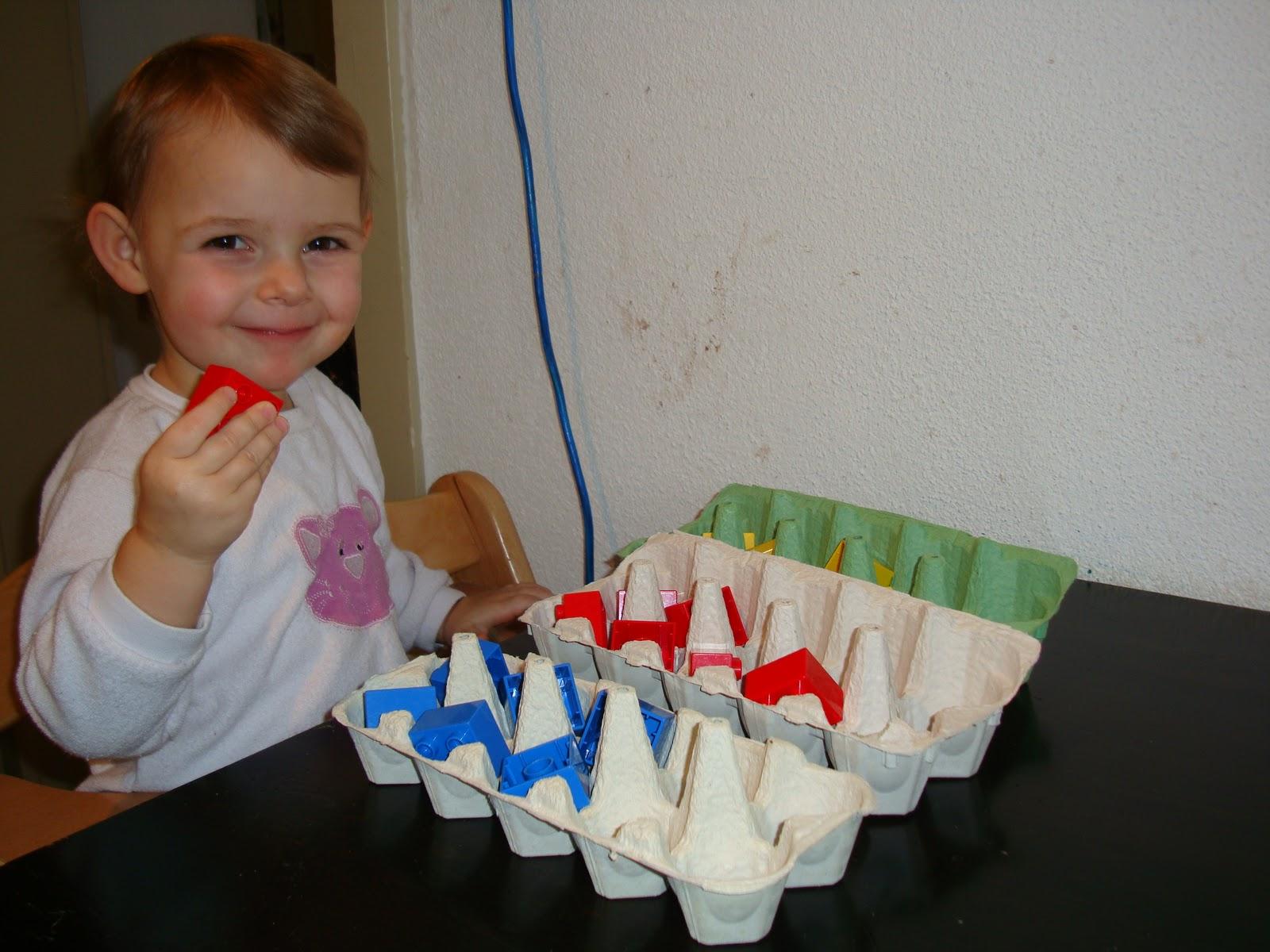 Einfache Sortier und Zuordnungsspiele » Das Kinderzimmer