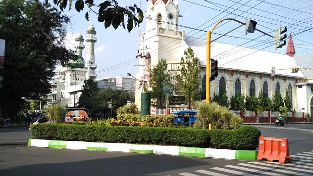 GPIB Immanuel Malang alun alun
