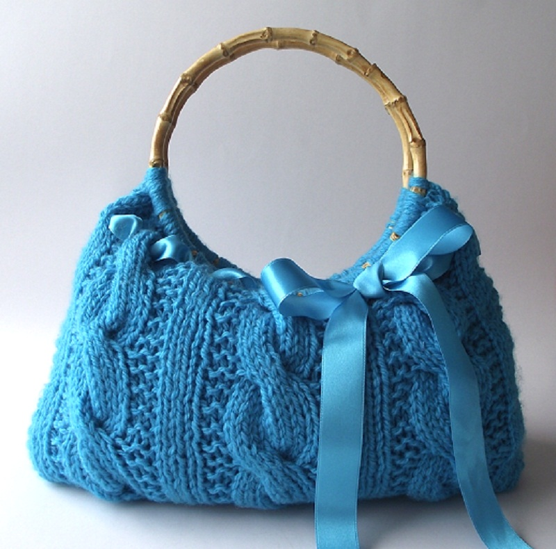 Lucia Knitting Bag Pattern
