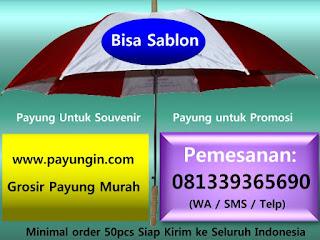 Harga Sablon Payung Murah untuk promosi