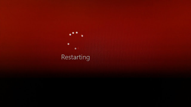 restarting windows technoob technology