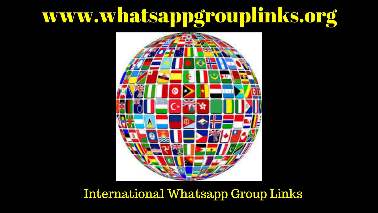 Join International Whatsapp group links list - Android Group APK