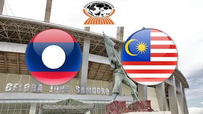 Live Streaming Laos vs Malaysia Kejohanan AFF B-16 30.7.2018