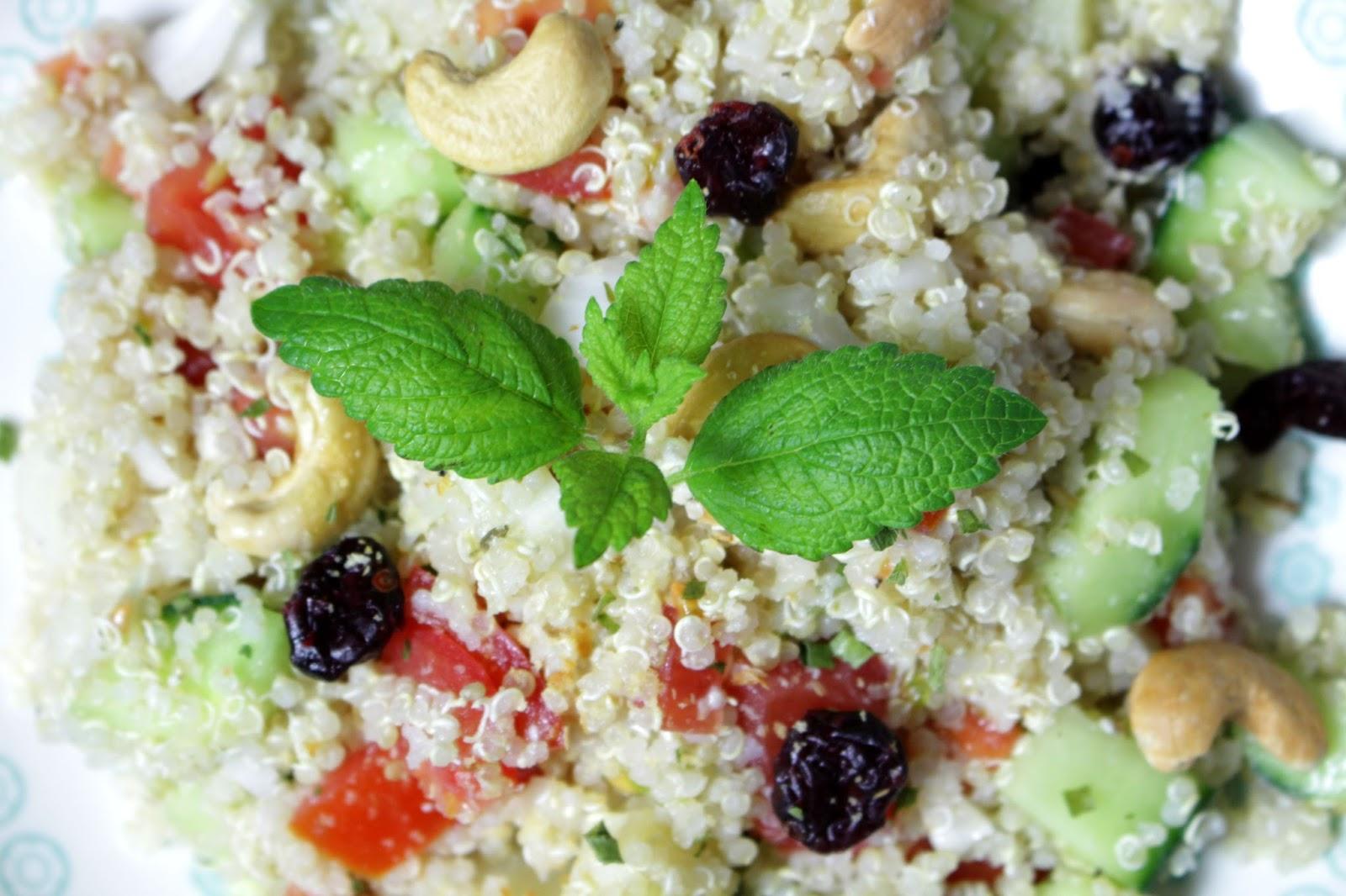 Salade Quinoa, Cajou & Cranberry