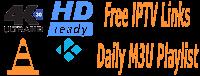 M3U Playlists 18 June 2018 Live Stream TV Smart IPTV Links