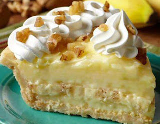 Pie with Banana Cream