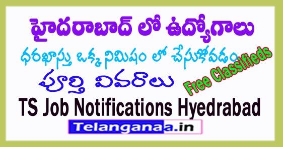 Telangana Jobs in Hyderabad Jobs