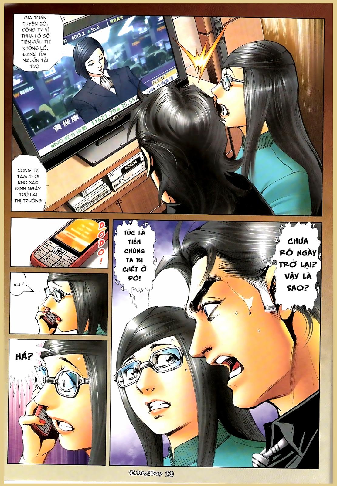 Người Trong Giang Hồ - Chapter 1194: Ác mộng Bố Già - Pic 25