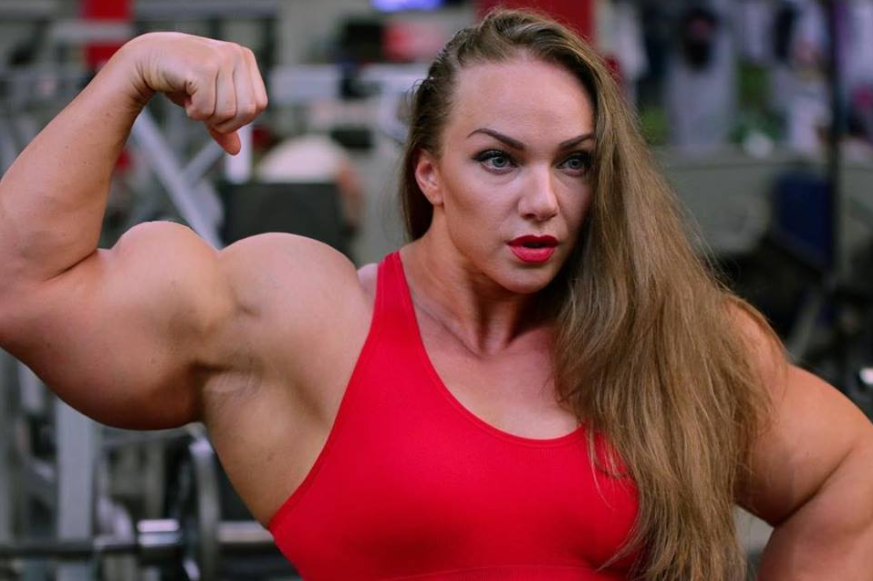 Strong muscle girls