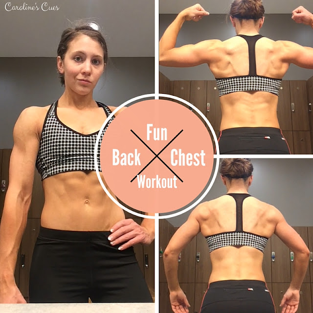 Caroline's Cues | Back and Chest Workout - Progress