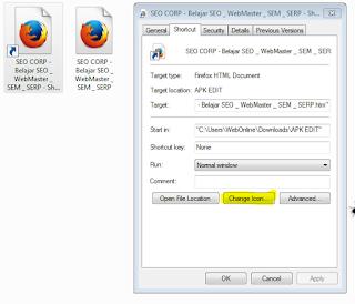 Cara Mengganti Icon Folder / File Di Windows Tanpa Software