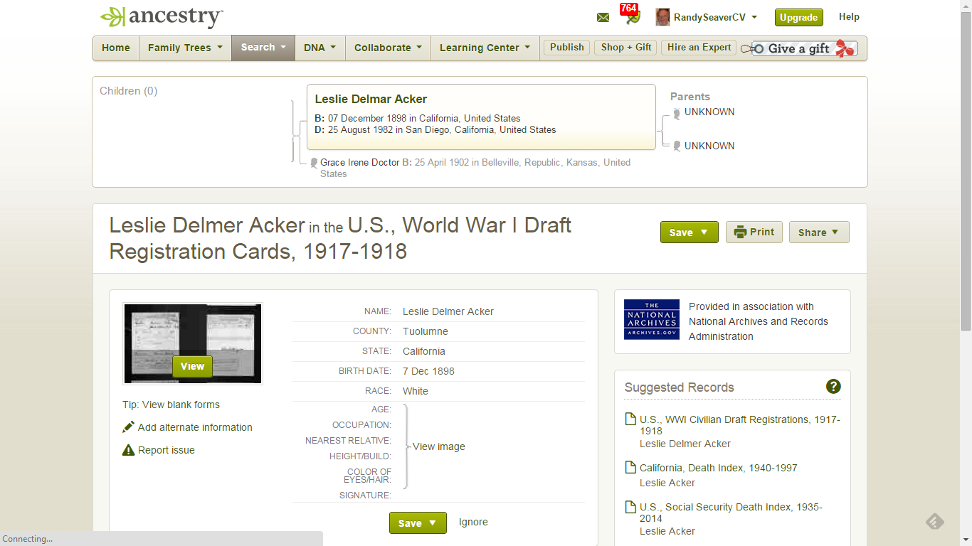 Genea-Musings: Tuesday's Tip - Search Ancestry com Hints by