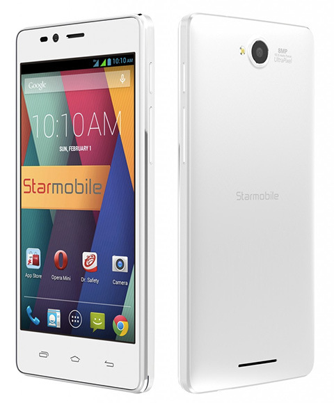 Starmobile UP Snap Specs, Price and Availability
