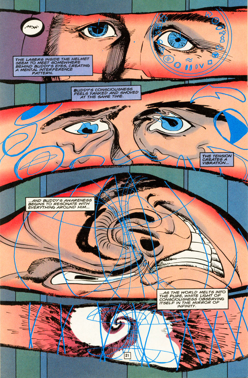 Read online Animal Man (1988) comic -  Issue #85 - 22