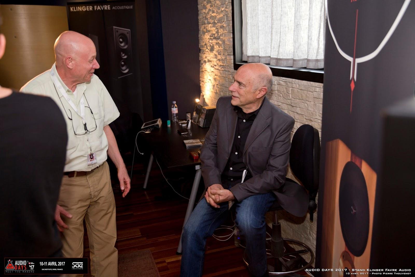 AudioDays 2017 SAE Institute Klinger Favre Pierre Thouvenot Jean Jacques Bacquet