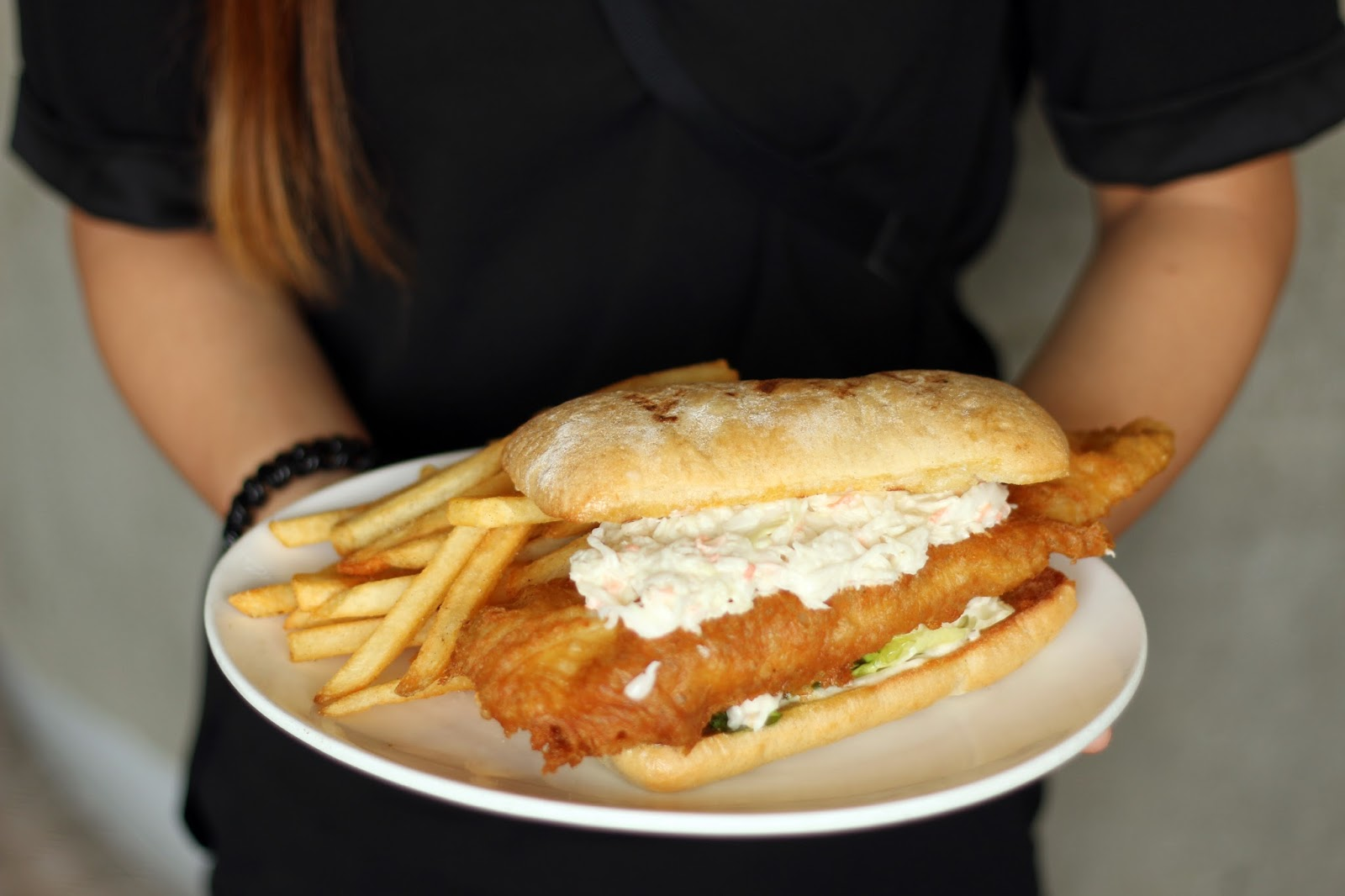 Morganfield s presents the best rib sauce ever onlywilliam for Who has the best fish sandwich