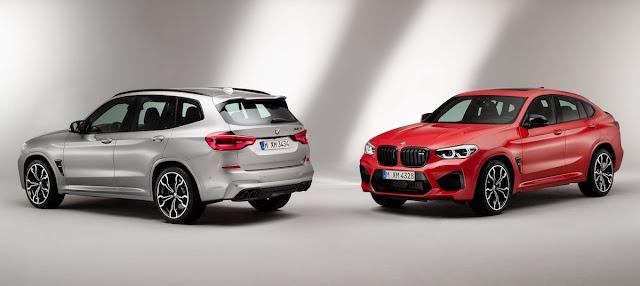 BMW X4M BMW X3M