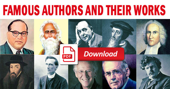 famous authors and their works