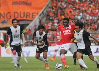 Persija Kalah 0-1 dari PSM Makassar