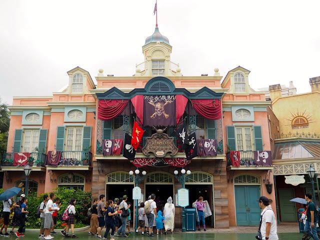 Pirates of the Caribbean, Tokyo Disneyland, Japan