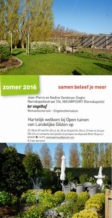 Open Tuinen 5 Mei 2016
