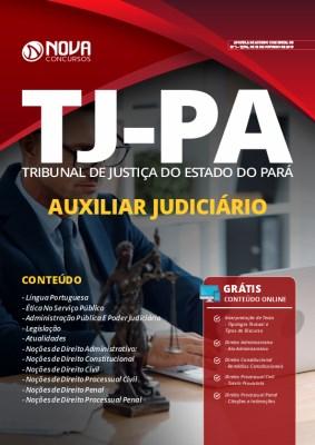 Apostila TJ PA 2020 Auxiliar Judiciário Grátis Cursos Online