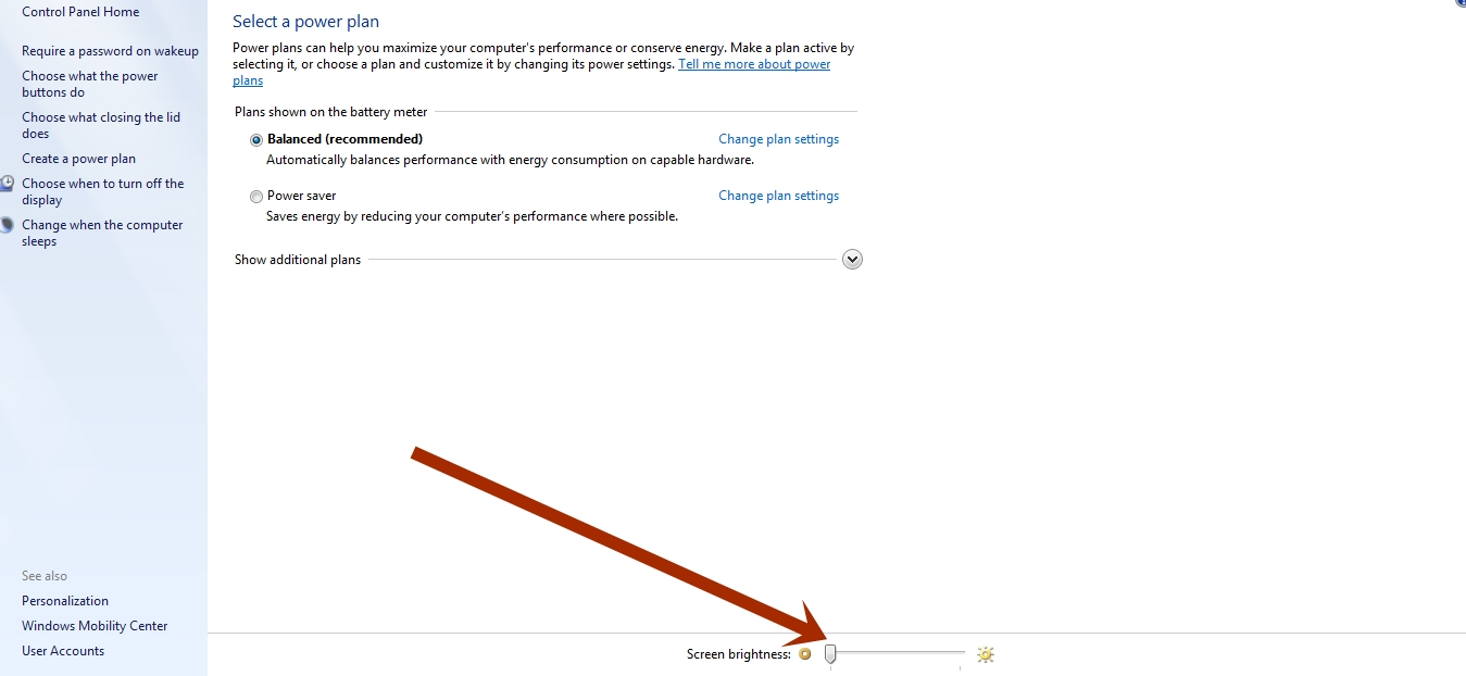 Cara Meredupkan Cahaya Layar Laptop Di Windows 7, 8 dan 10