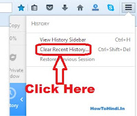 how to delete browsing history in mozilla firefox permanently