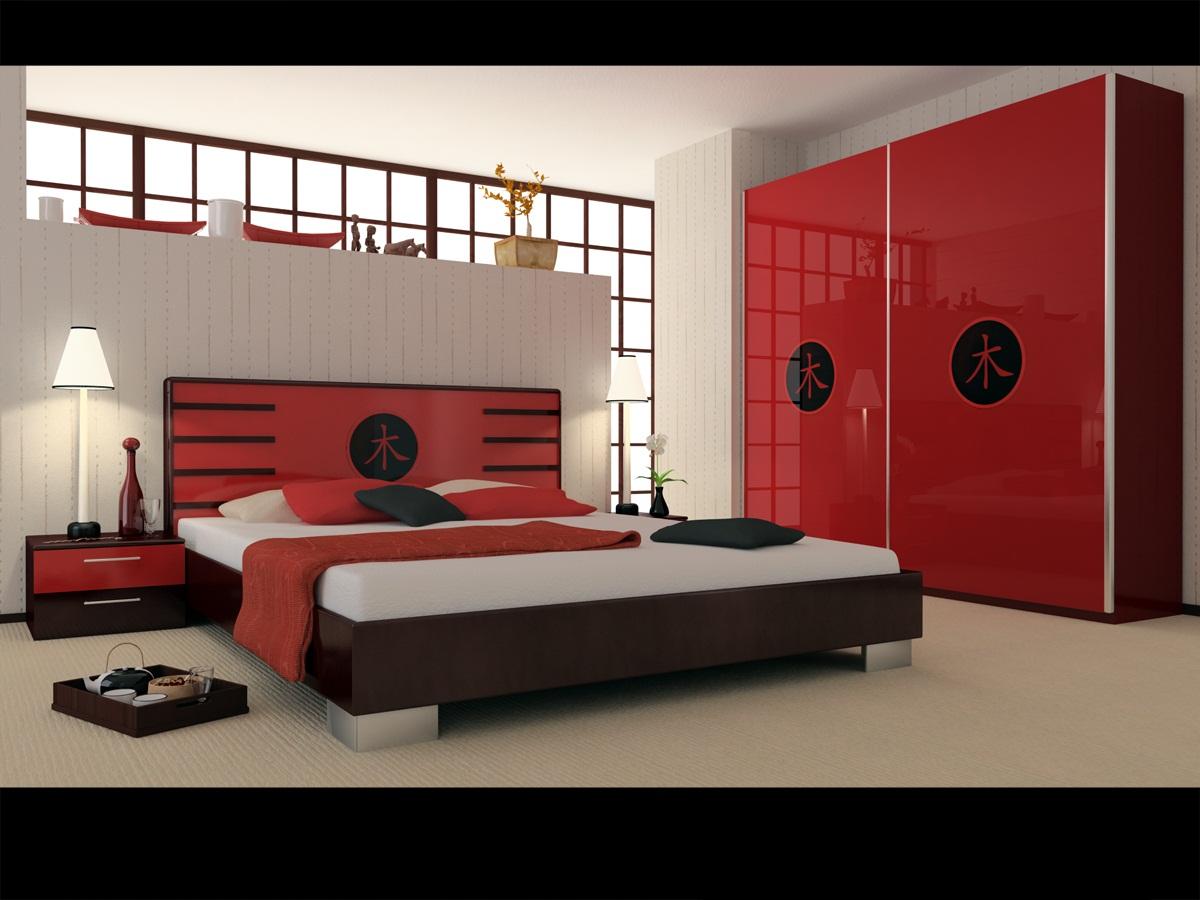 decorar apartamento Red idéias quartos