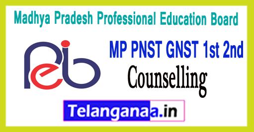 MP Madhya Pradesh General Pre- Nursing Training 1st 2nd Counselling 2018 Seat Allotment