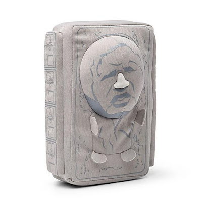Plush Han Solo in Carbonite