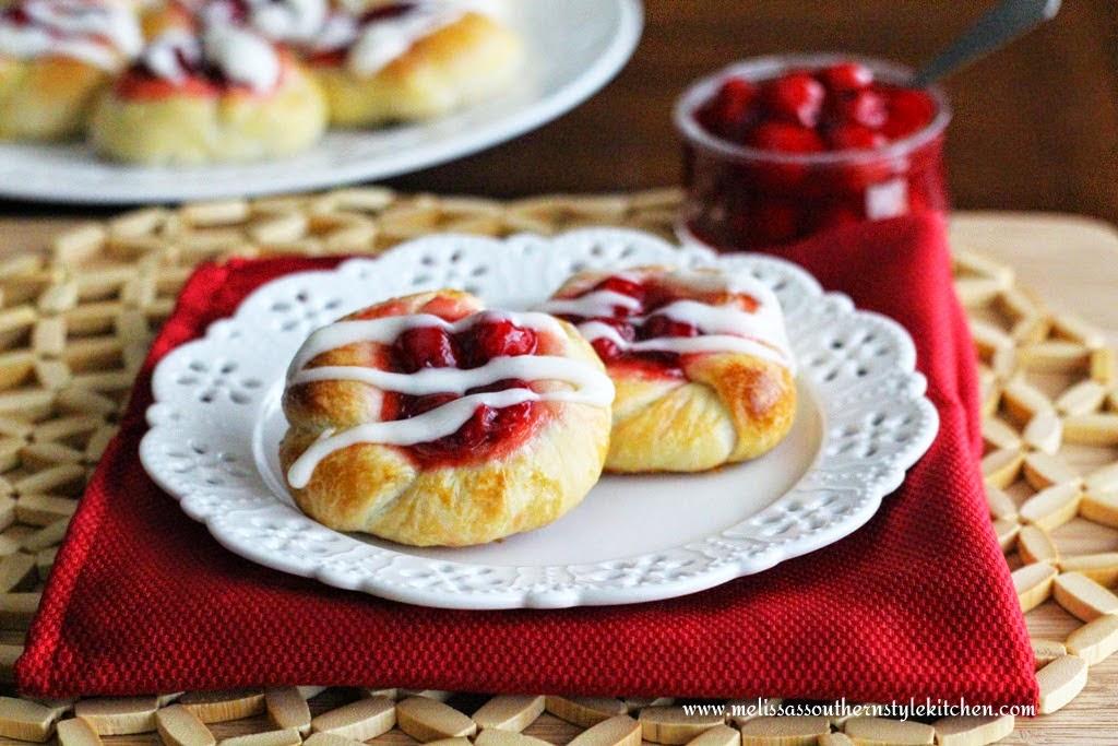 Cherry Danish image