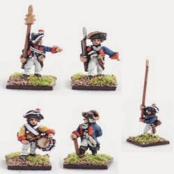 AWG4 Brunswick musketeer command.