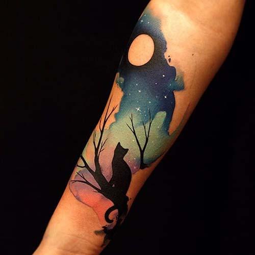 kedi dövmeleri cat tattoos 12