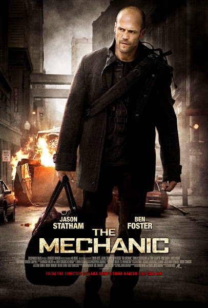 Poster of The Mechanic 2011 Hindi 720p BRRip Dual Audio Full Movie Download