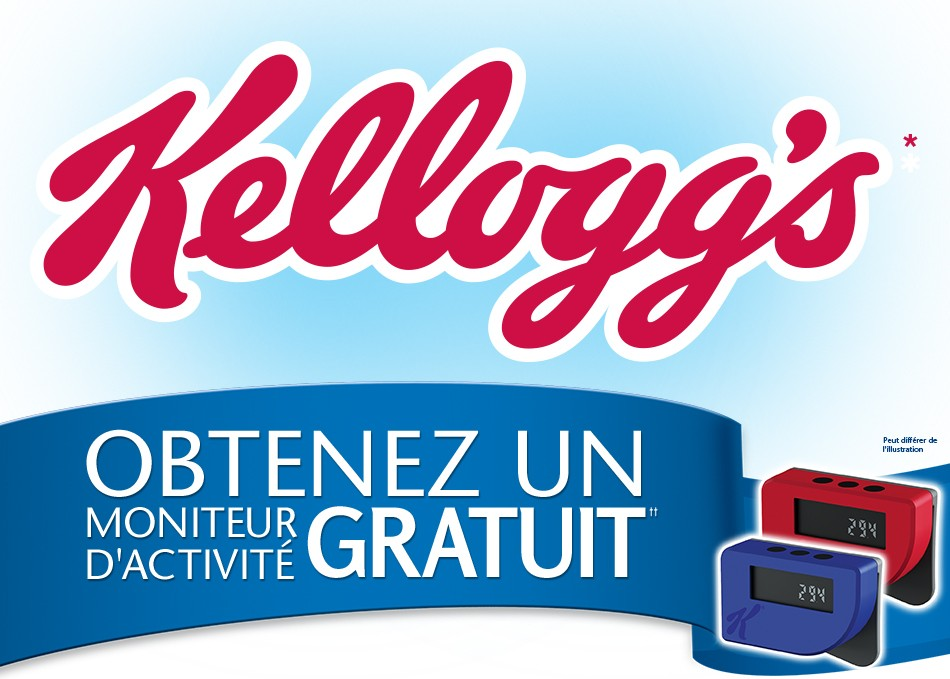 Kellogg 39 s obtenez un moniteur d activit gratuit espace for Activite interieur a quebec
