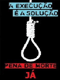 62% dos brasileiros são favoráveis à pena de morte para crimes bárbaros