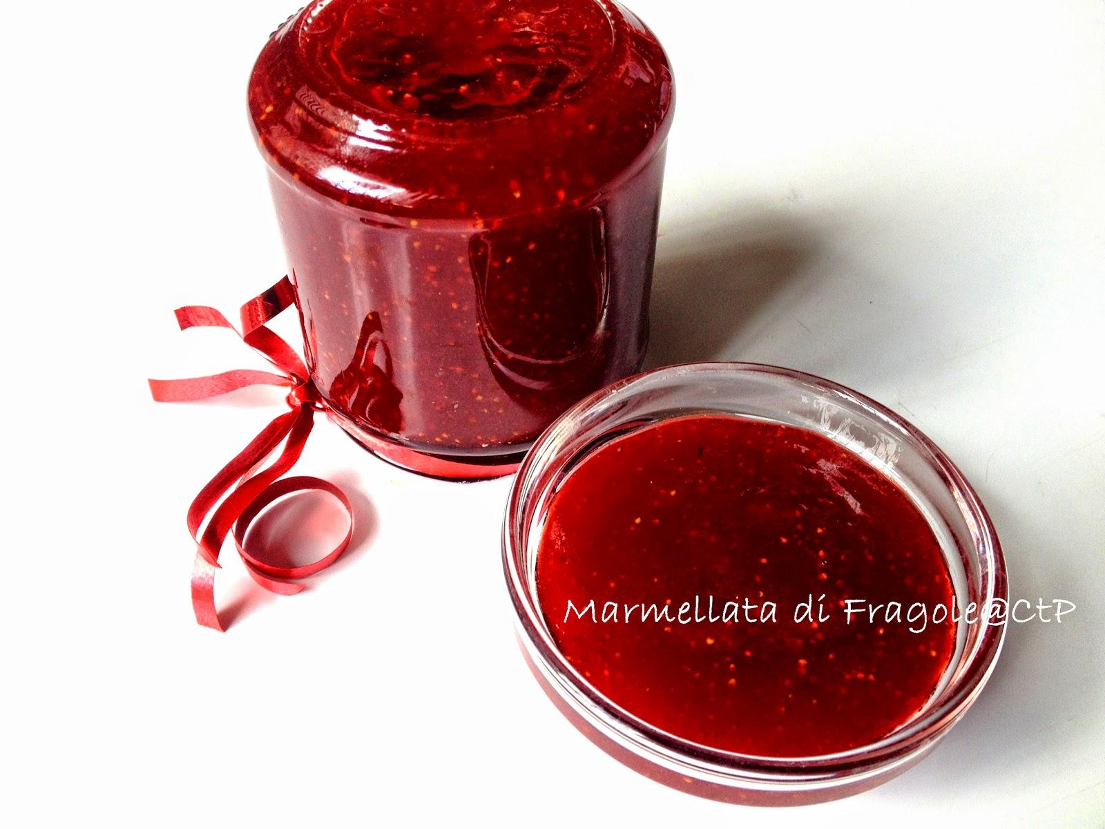 ricetta marmelata di fragole di terracina