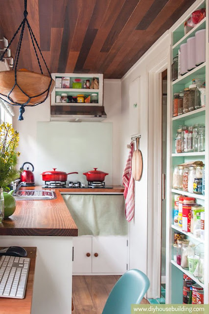 186 sq ft New Zealand Tiny House kitchen