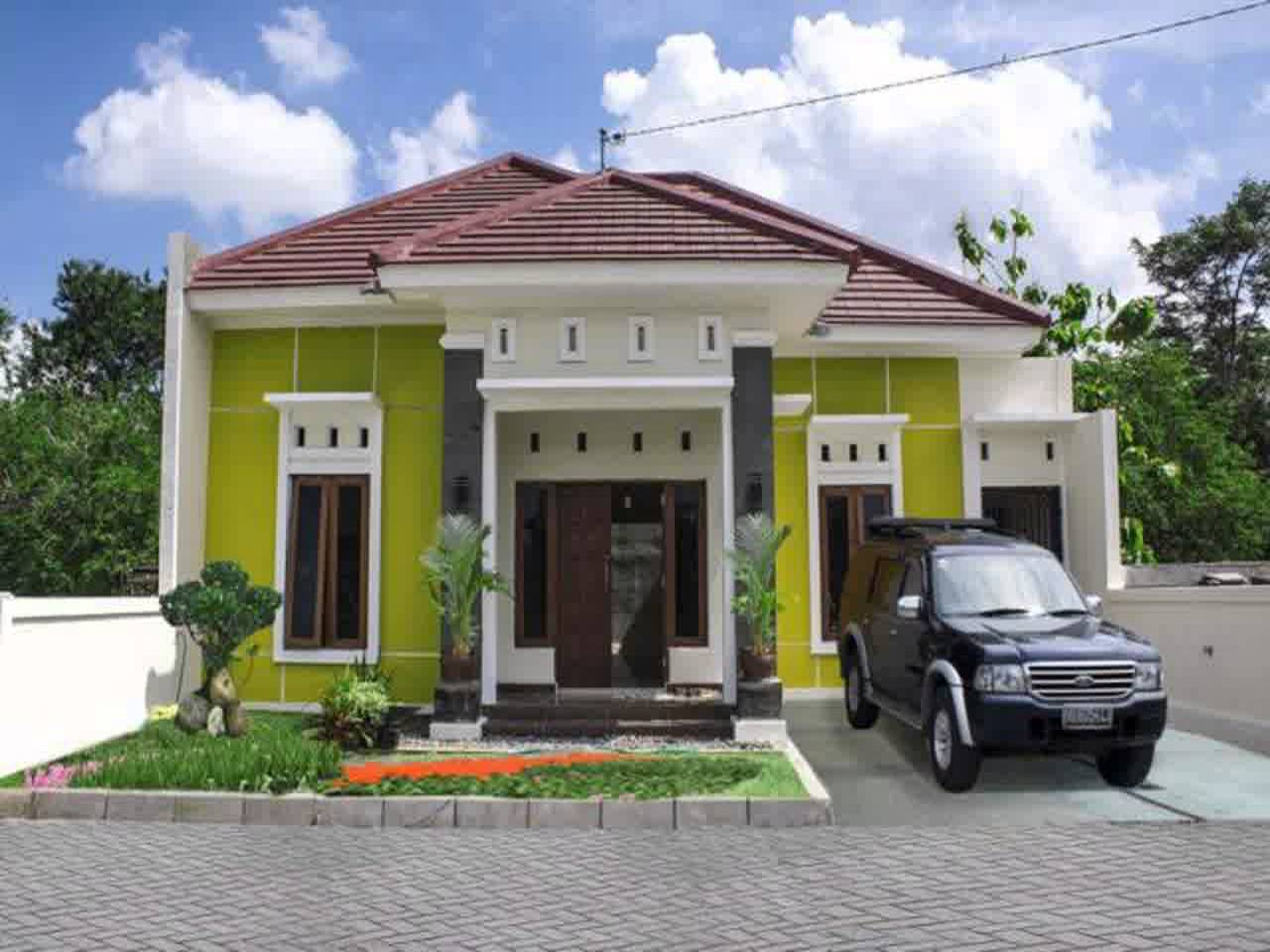 Desain Rumah Minimalis Modern 1 Lantai Type 45 Desain Rumah Minimalis