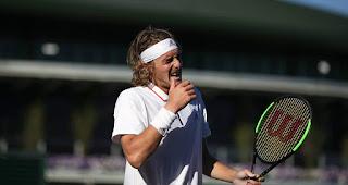 Stefanos Tsitsipas Wimbledon First round press conference