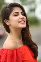 Rhea Chakraborty in Red Crop Top and Denim Shorts Spicy Pics ~  Exclusive 125.JPG