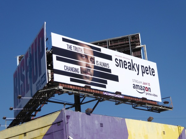Sneaky Pete Amazon TV series billboard