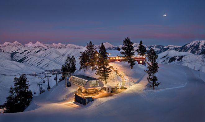 ski resort in sun valley