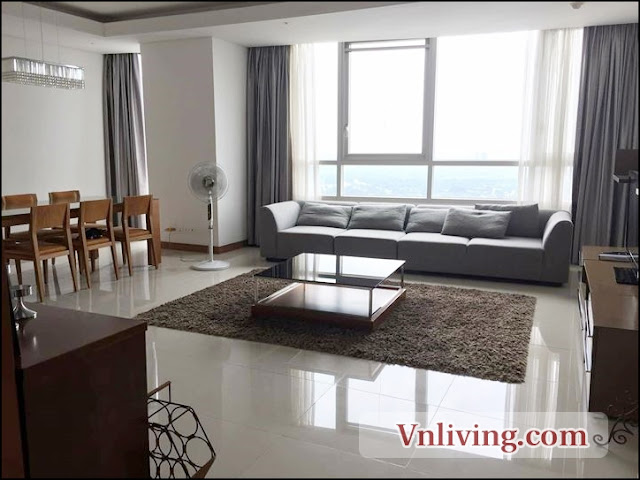 180 sqm 3 bedrooms for rent in Xiriver View apartment District 2