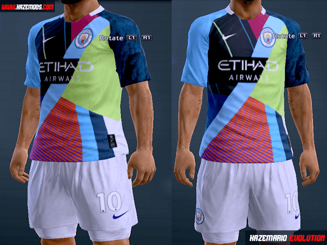 Pes 2013 Kits Nike X Manchester City Mashup 2019 Kazemario Evolution