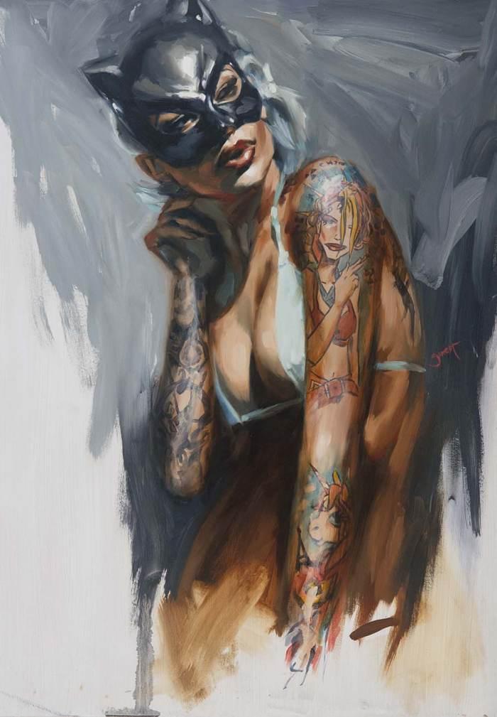 Татуированные люди. Chris Guest